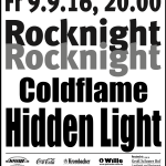 Plakat Rocknight