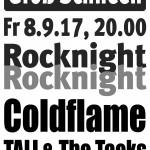 Plakat Rocknight 2017
