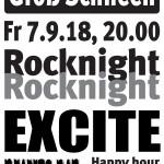 Plakat Rocknight 2018