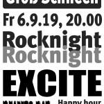 Plakat Rocknight 2019