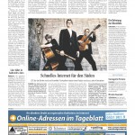 Göttinger Tageblatt vom 28.08.15
